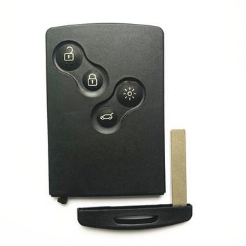 For Renault Clio4 Captur 2016 Proximity Smart Card Key 4 Buttons 433MHz AES Transponder