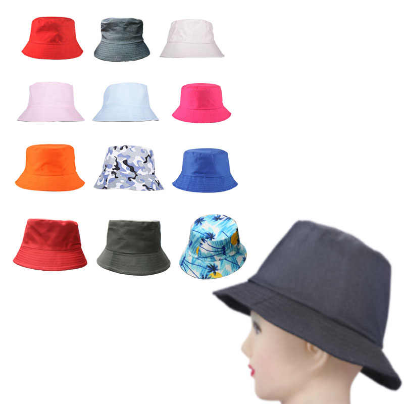 6ccc6d3bc27 Fashion Outdoor Bucket Hat Simple Visor Fishing Summer Cotton Hunting Men  Women Travel Boonie Holiday Camping