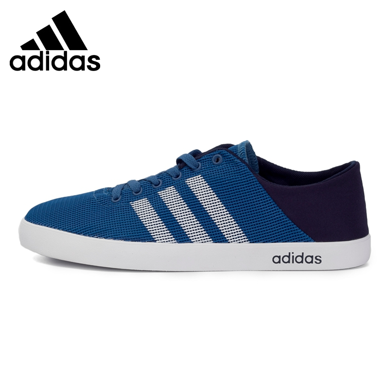 Original New Arrival 2017 Adidas NEO Label VS EASY VULC SEA Men's Skateboarding Shoes Sneakers цены онлайн