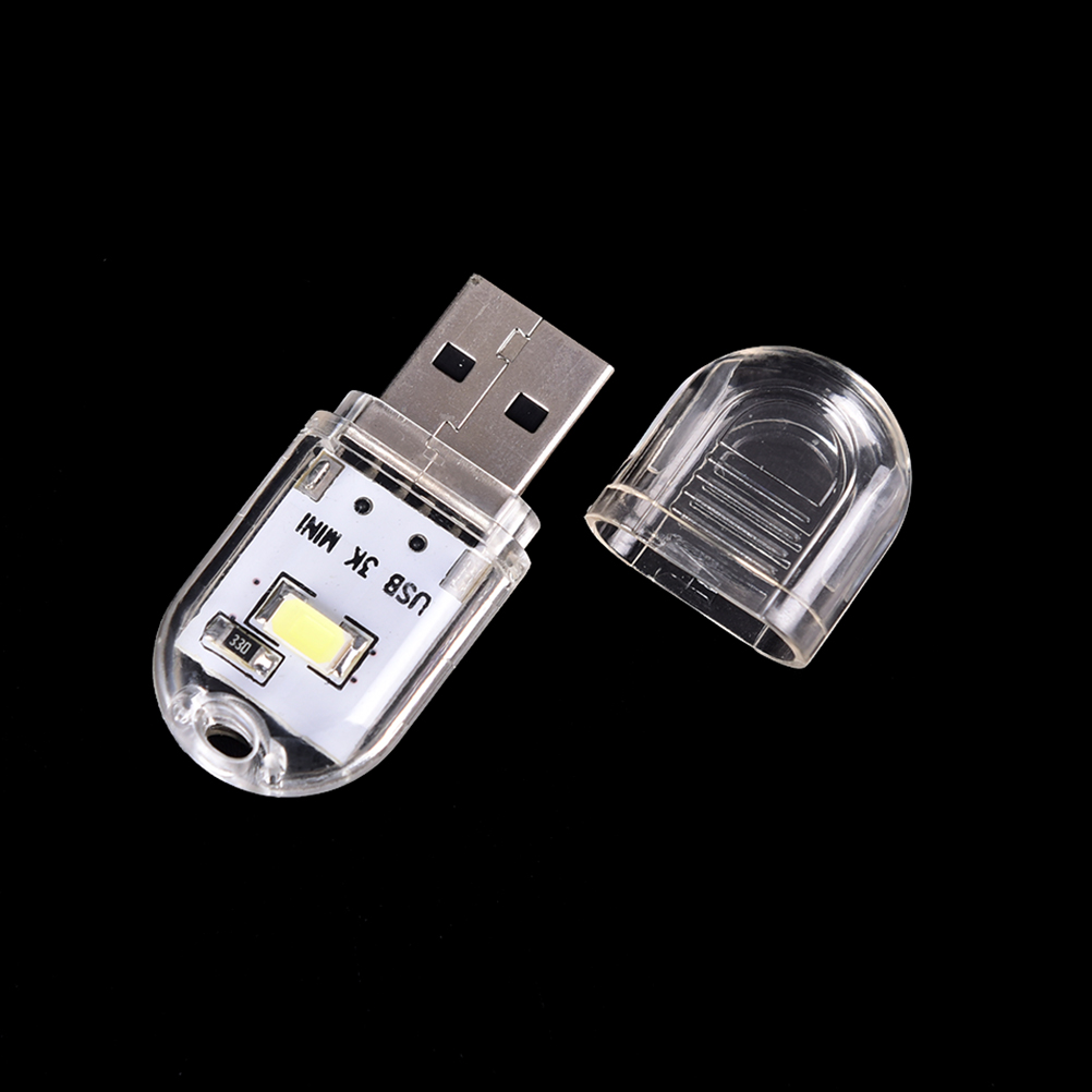 Mini USB LED Book lights LampsNight light Camping lamp Power Charger Reading Bulb  For PC Laptops Computer Notebook Mobile