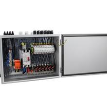 12 струнный вход фотогальванический массив солнечный PV Combiner Box 1 струнный выход для решетки Солнечной энергии системы