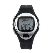 Relojes de los hombres del Deporte Digitales LCD Podómetro Digital de Pulso Calorías Monitor Del Ritmo cardíaco del Contador de Fitness reloj relogio masculino