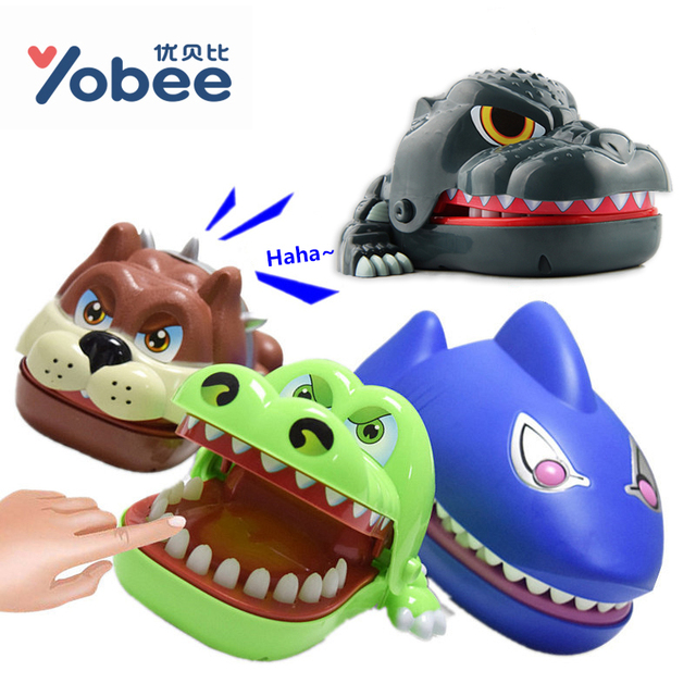 Shark Toys For Adults : Yobee creative novelty prank dentist bite finger