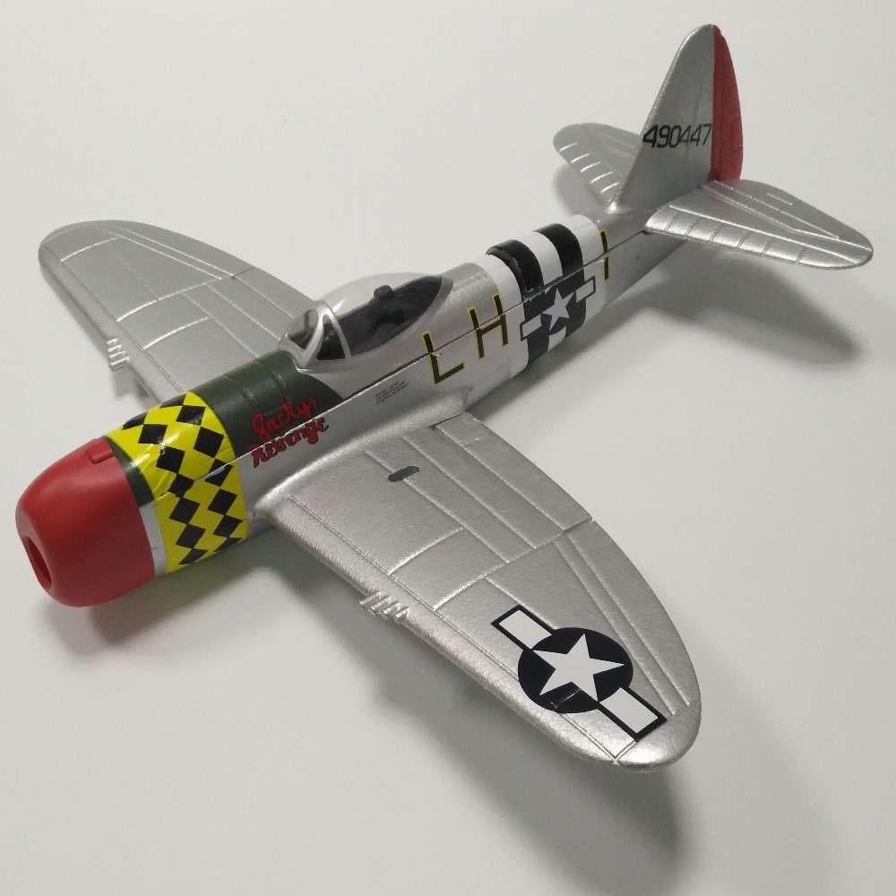 630mm P47 Electric RC Airplane Model Toy Hobby