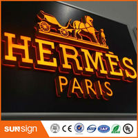 Wholesale Waterproof 9 Tall Acrylic Letters Shell LED Illuminated Sign Letters