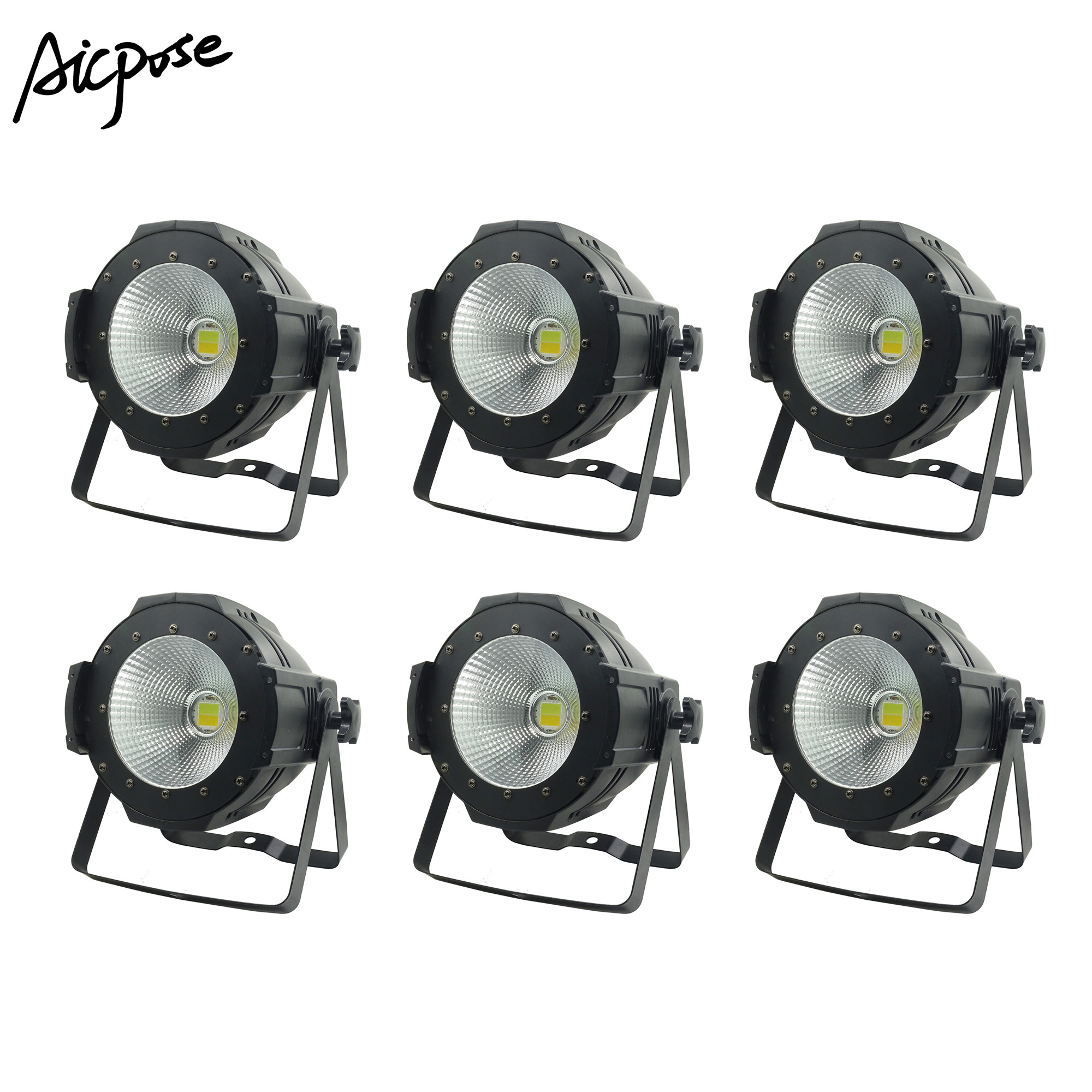 LED Par  COB Light 100W High Power Aluminium DJ DMX Led Beam Wash Strobe Effect Stage Lighting,Cool White and Warm WhiteLED Par  COB Light 100W High Power Aluminium DJ DMX Led Beam Wash Strobe Effect Stage Lighting,Cool White and Warm White