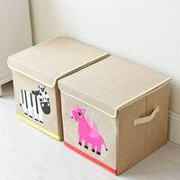 Japanischen Esel Cartoon Ablagekorb Kind Lustige Spielzeug Sammeln Warenkorb Hause Falten in der lage bilden Mit Lippen Wohnzimmer Decor