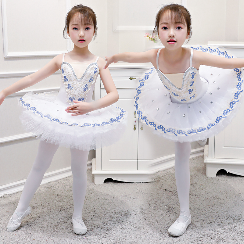 Professional Tutu Girl Ballet Dress Children Swan Lake Dance Costume Kids Ballet Tutu Child Costumes Ballerina Party Dancewear