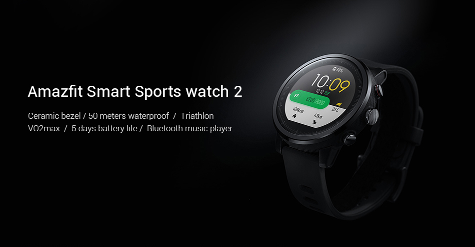AMAZFIT STRATOS SMART SPORTS WATCH 2 1
