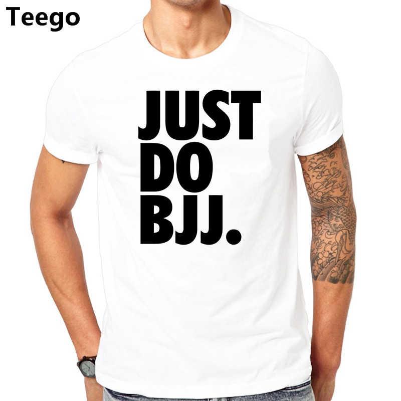 a3b24298 Just Do Bjj Brazilian Jiu Jitsu Popular T Shirts For Guys 2017 Short Sleeve  Shirt With