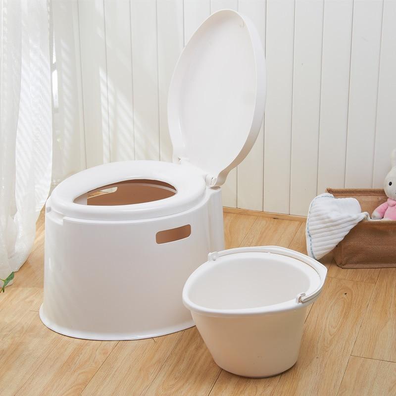 WAIN thicken portable toilet seat toilet pregnant adult toilet ...