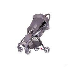 Baby stroller lightweight folding bike ultra light can sit lie baby stroller shock absorber portable pocket children umbrella