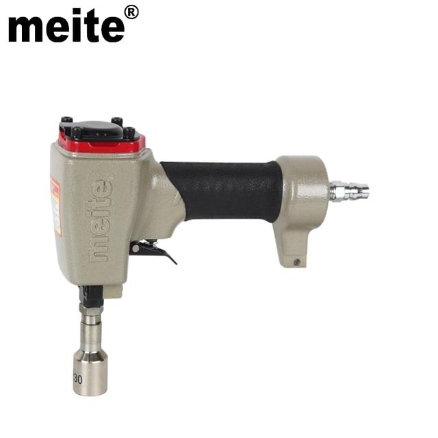 MEITE in head diameter 20.3mm pneumatic air deco nailer gun ZN2030 ...