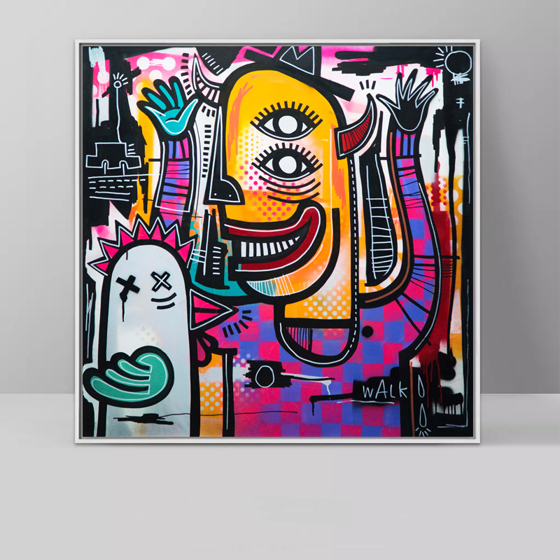 Animal Canvas Paintings Modern Oil Paintings For Living Room - Huisdecoratie
