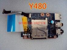 Wholesal ls-8003p плата для lenovo ideapad y480 audio usb совета модуль подлинной