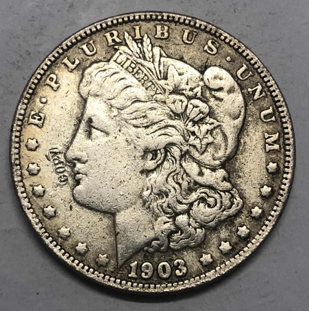 1903 (P.S.O) Amerika Birleşik Devletleri Morgan Bir Dolar Gümüş Kaplama Kopya Para (herhangi bir tek nane Seçin)