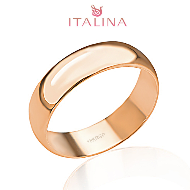 Sale Ring Italina Brand 3-12.5 Full Size Rose Gold Color Jewelry Children Anel Masculino Men Women Engagement Rings Couple Gift