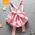 2017 Летний Новый детская Одежда Детские Девушки Милый Розовый Лук PP Спецодежды Шорты