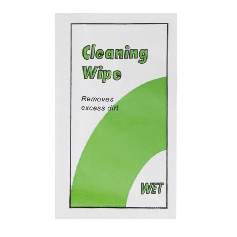 9.7x4.8cm Screen Cleaning Wipes Dust Removal Tool Alcohol Wet Paper For Computer Phone Glasses