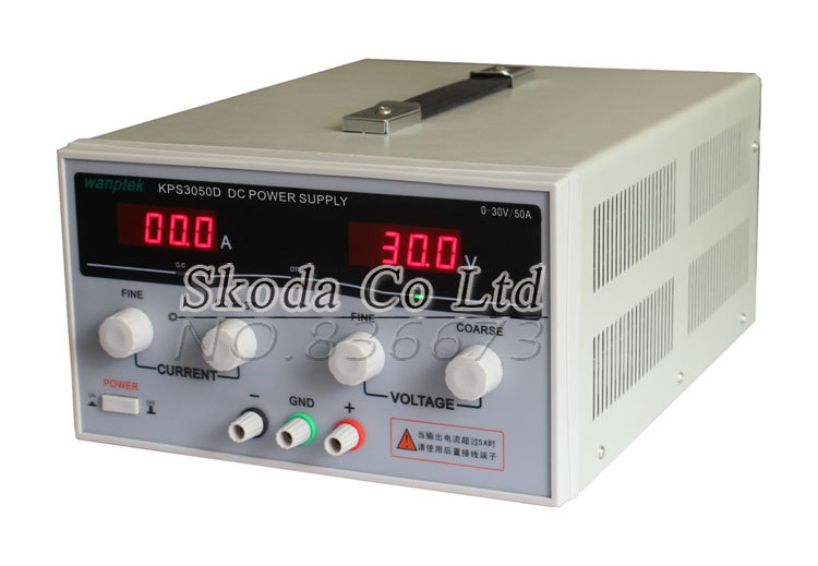 30V 50A KPS-3050D High-Power Switching Variable DC Power Supply 110V/220V