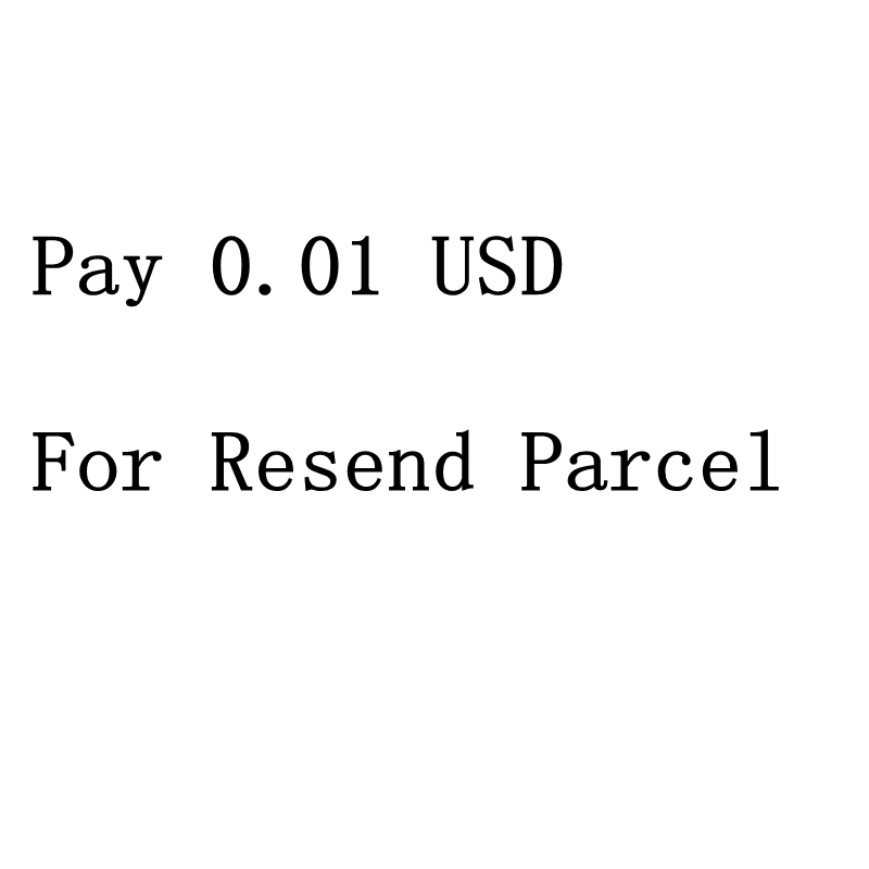 Pay 0.01 USD For Resend Parcel Or Extra Shipping Charge ...