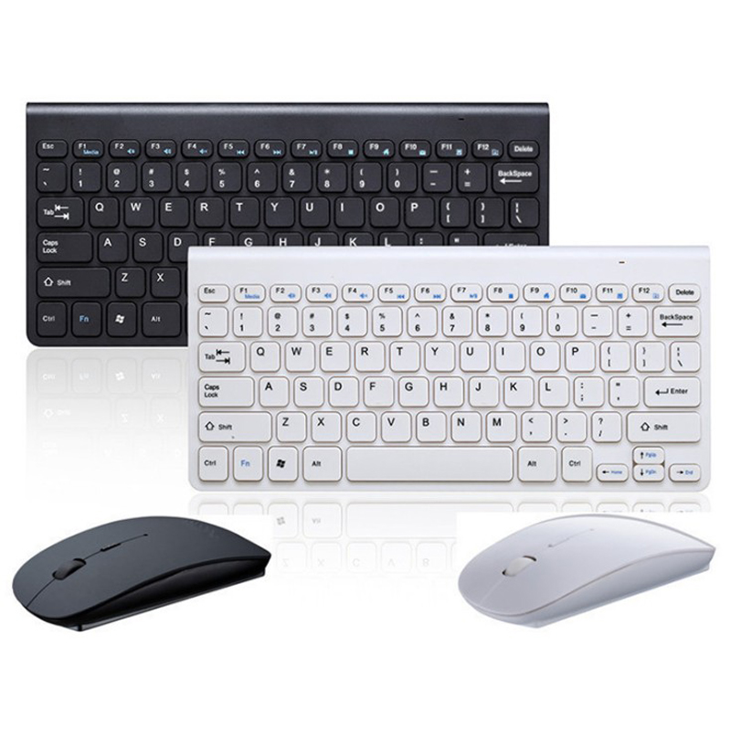 Mini Wireless Mouse Keyboard For Laptop Desktop Mac