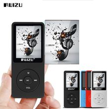 Original RUIZU X02 MP3 Player 8GB With 1.8 Inch Screen Can Play 100 hours With FM,E Book,Clock,Data Sport MP3 Music Player car