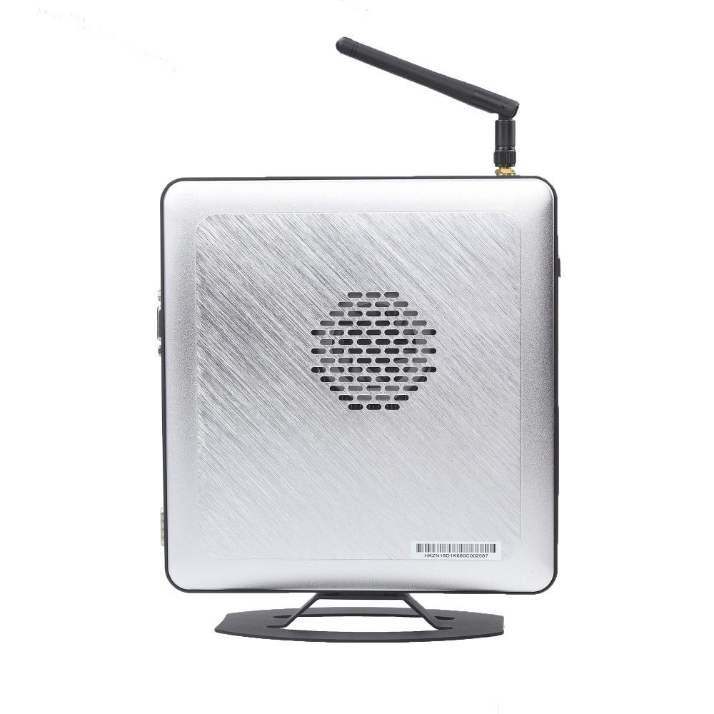 Small Desktop Pocket Computer Intel I5 Windows 10 WIFI Mini Pc Support Linux 1000M Gigabit RJ45 Lan