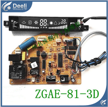 95% new good working for air conditioning computer board motherboard 3D4 ZGAE-81-3D on sale
