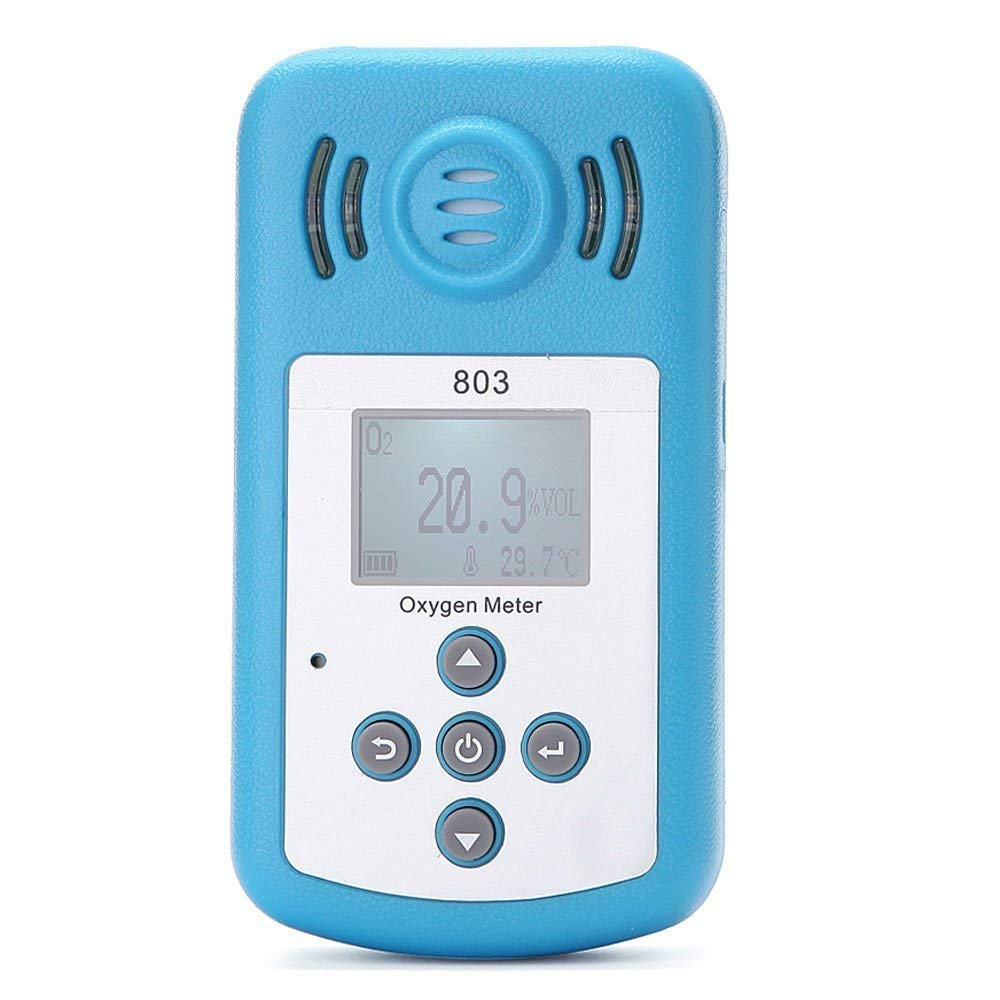Oxygen Meter Portable Oxygen(O2) Concentration Detector with LCD Display and Sound-light Alarm new oxygen meter portable oxygen o2 concentration detector with lcd display