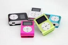 Оптовая Улучшенный Мини USB Металла Клип Mp3-плеер ЖК-Экран поддержка 32 ГБ Micro SD TF Слот Для Карты Цифровой mp3 музыка плеер