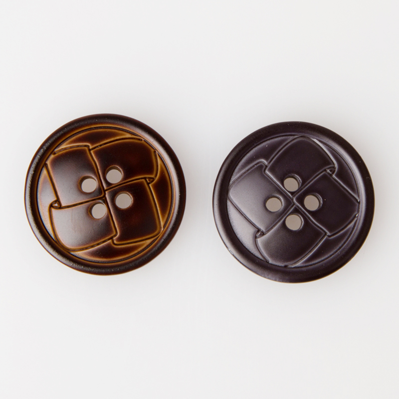 10PCS/L0T Resin Button Clothing Accessories Four Hole Botones Casual Suit Men's Clothing Bouton