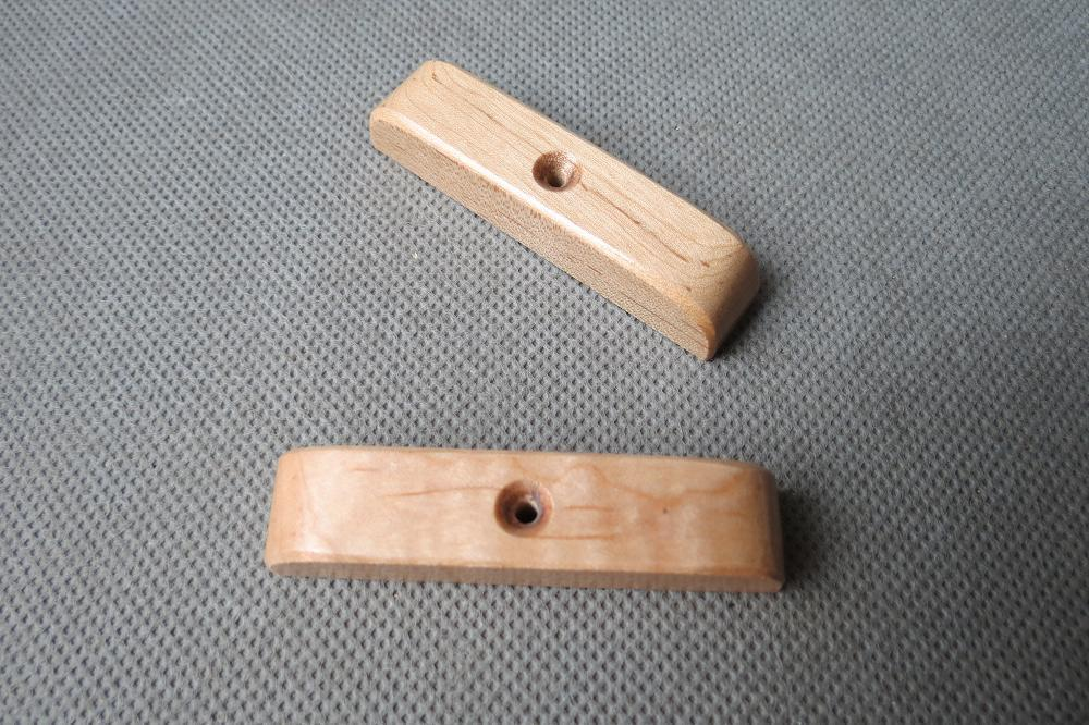 2pcs maple wood thumb rest for bass guitar thumbrest 243 in guitar parts accessories from. Black Bedroom Furniture Sets. Home Design Ideas