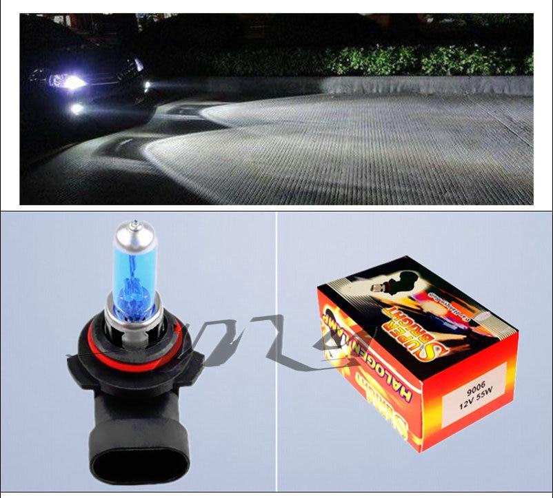 9006 HB4 55W halogén izzók szuperfehér fényszórók ködlámpa - Autó világítás - Fénykép 5