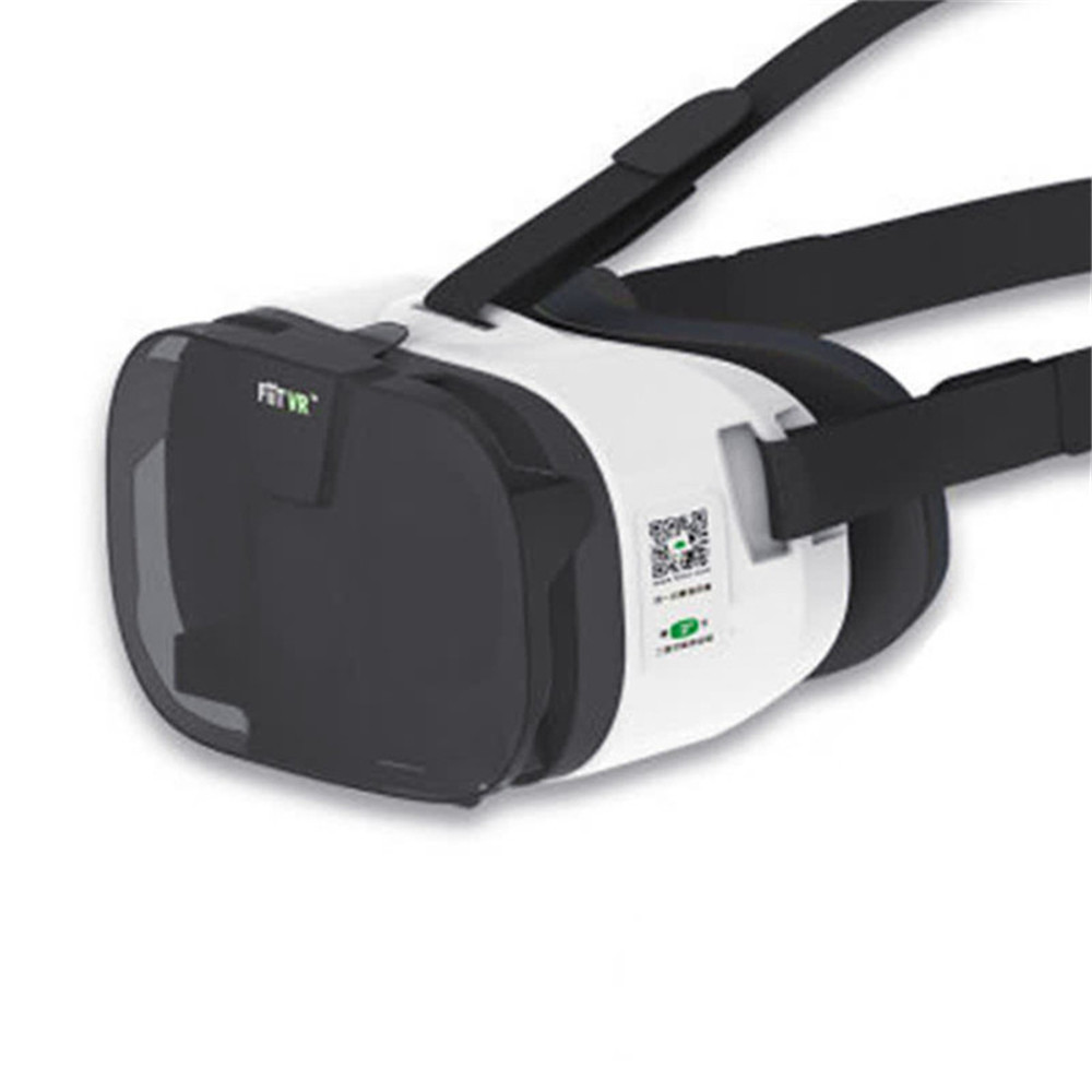 Vr eye virtual reality 3d glasses mobile game helmet style with headphones vr glasses game console rv virtual reality 3d mobile phone ar integrated machine huawei vivo eye helmet headset type