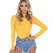 f8030cfda1a Hollow Out Knitted Bodysuit Women One Piece Slim Fit Romper Jumpsuit Sexy  High Street Body Suit