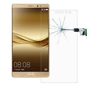 Image 1 - 2 pièces verre Huawei Mate 8 protecteur décran verre trempé pour Huawei Mate 8 verre mate8 Film trempé anti rayures WolfRule [