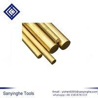 Yüksek kalite ücretsiz kargo H59 Metal pirinç katı yuvarlak demir (çap 20mm/25mm/30mm/ 35mm/40mm/uzunluk 100mm)
