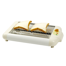6 Stalls Hot Dog /Breakfast Sandwich Flat Toaster Bread Baking Machines Electric Toasters Grill Slice Euro VDE Plug