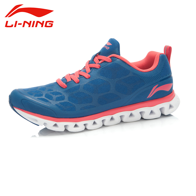ФОТО LI-NING Arch Low Cut Damping Super Light Breathable Charming Color Crash Sport Shoes Sneakers Running Shoes Women ARHJ052 XYP039