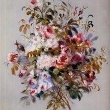 Букет роз Пьер Огюст Ренуар знаменитого картины репродукция высокое качество ручной росписью