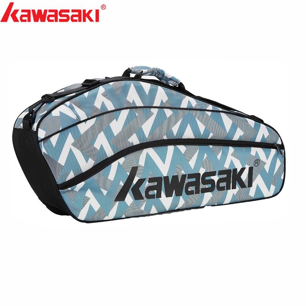 VertrauenswüRdig 2019 Kawasaki Tennis Badminton Schläger Taschen Männer Frauen Einzelnen Schulter Polyster Sport Taschen Für 3 Schläger Badminton Taschen Kbb-8303