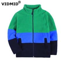 VIDMID Enfants Nouvelle 2017 Enfants Enfants Garçon fille hoodies Garçons manteau polaire vestes et manteaux enfants garçons sweat cardigan 1097 04