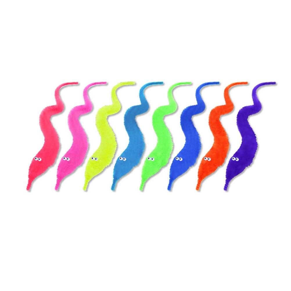 1 шт. Новое поступление wisty Нечеткие червь плюшевые покачиваться желчи Pussy мягкие Животные Street игрушка для детей русскому подарок 8 цветов