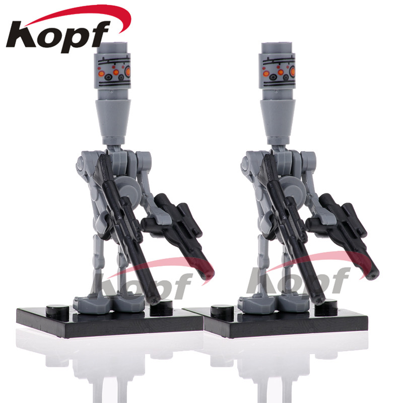 PG805 Building Blocks  IG-88 Figures Bounty Hunter Protocol Droid Rival Of Model 75167 Bricks Learning Gift Children Toys