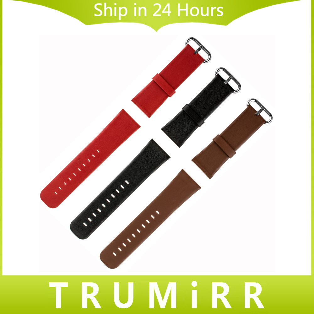 22mm 24mm Genuine Leather Watchband Plain Pattern Universal Watch Band Strap Bracelet with Tool and Spring Bar Black Brown Red 22mm 24mm black mens genuine leather watch strap band