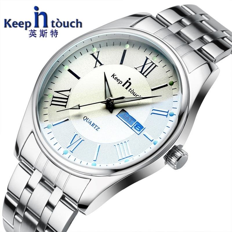 Brand Luxury Men's Ladies Watch Date Taste Waterproof Ultra Thin Clock  Casual Quartz Watches Women Watches Luminous Watch Men