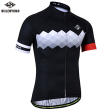 SIILENYOND Quick Dry Cycling Jerseys Summer Short Sleeve MTB Bike Cycling Clothing Ropa  Maillot Ciclismo Racing Bicycle Clothes