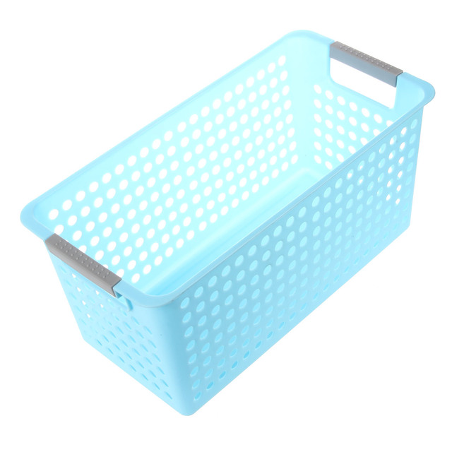 Best Japanese Style Stackable Plastic Storage Baskets/Bins Organizer Fruit  Toys Clothes Glove Box