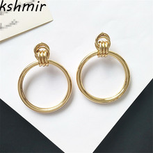 kshmir  , Fashion lady exaggerated Big earrings, female, delicate and punk, fashion trends, jewelry wholesale